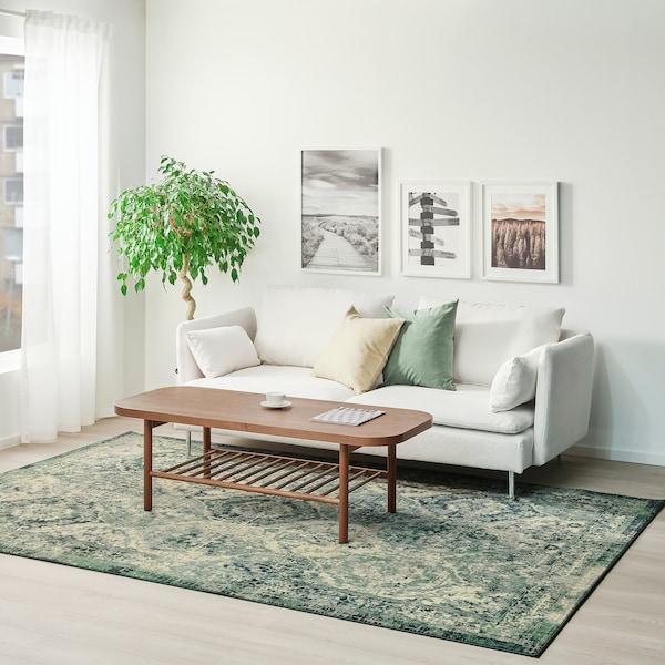 VONSBÄK سجاد، وبر قصير, أخضر, 200x300 سم