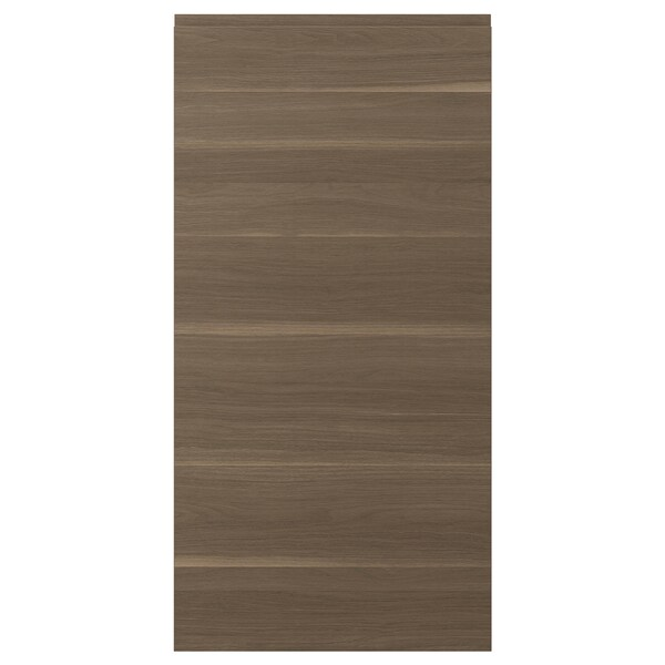 VOXTORP Door, walnut effect, 60x120 cm