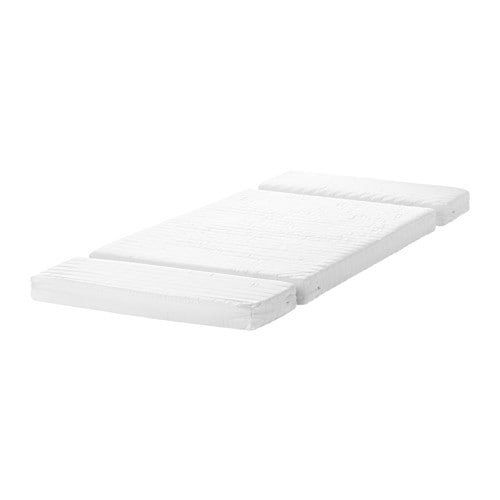 VYSSA SNOSA Mattress for extendable bed   Two different comfort surfaces.