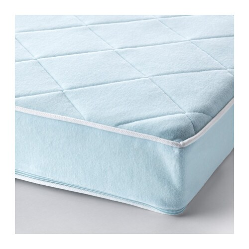 VYSSA VACKERT Mattress for extendable bed   Pocket spring mattress gives precise support to your child's growing body.