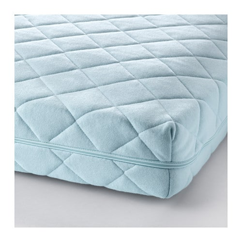 VYSSA VINKA Mattress for extendable bed   Bonell springs provide great comfort and high air circulation.