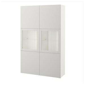 لون: أبيض/lappviken رمادي فاتح زجاج شفاف.