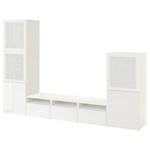 لون: أبيض/selsviken لامع/زجاج ضبابي أبيض.