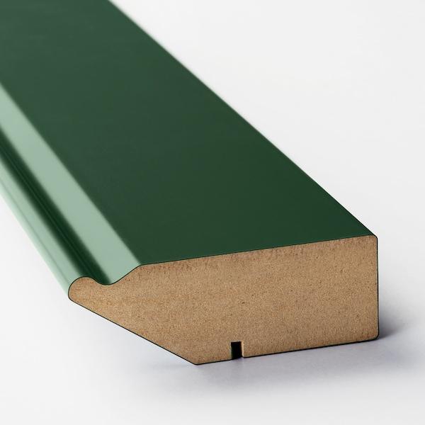 BODBYN زينة سفلية لغسالة صحون أخضر غامق 66 سم 2.8 سم 8 سم