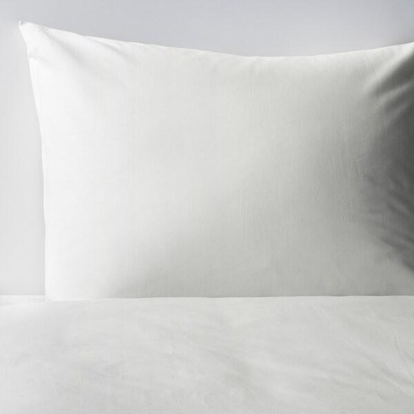 DVALA غطاء لحاف/2كيس وسادة أبيض 152 بوصة مربعة 2 قطعة 220 سم 240 سم 50 سم 60 سم