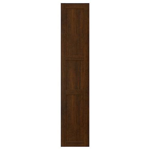 EDSERUM باب مظهر الخشب بني 39.7 سم 200.0 سم 40.0 سم 199.7 سم 1.8 سم