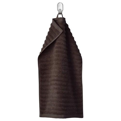 FLODALEN منشفة ضيوف بني غامق 700 g/m² 50 سم 30 سم 0.15 م²