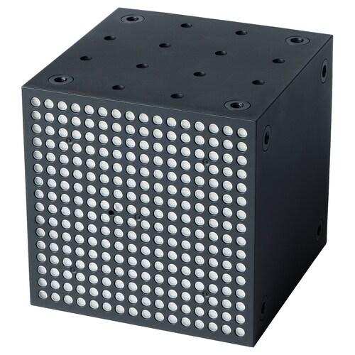 FREKVENS إضاءة متعددة الإستخدام LED أسود 1 قطعة 10 سم 10 سم 10 سم