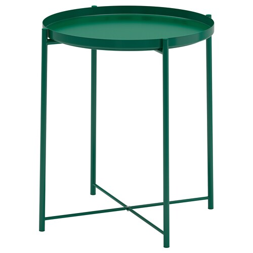 GLADOM صينية/طاولة أخضر 53 سم 45 سم