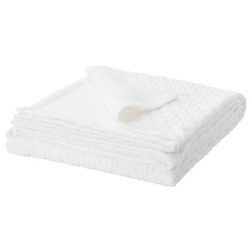 GULLDRABA غطاء سرير أبيض 250 سم 150 سم