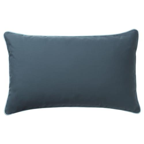 GULLINGEN غطاء وسادة داخلي/خارجي/أزرق غامق 40 سم 65 سم