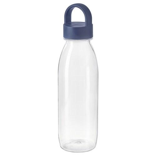 IKEA 365+ قارورة ماء أزرق 24 سم 0.5 ل