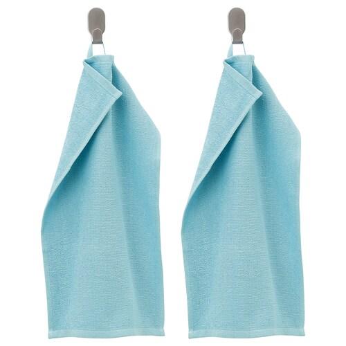 KORNAN منشفة ضيوف أزرق فاتح 50 سم 320 g/m² 30 سم 0.15 م² 2 قطعة