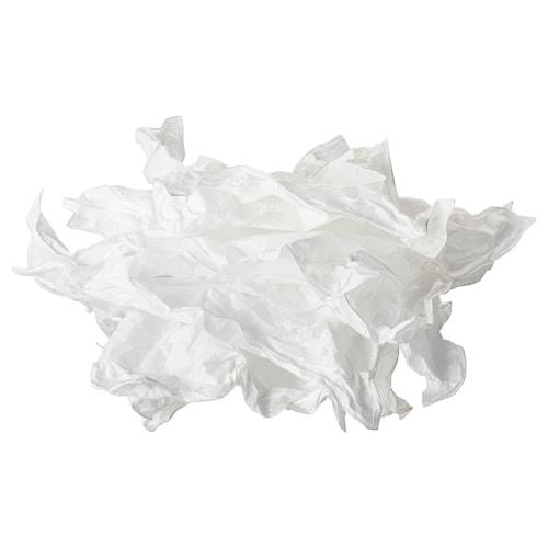 KRUSNING غطاء مصباح سقفي أبيض 43 سم 43 سم