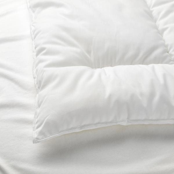 LEN وسادة لسرير طفل أبيض 35 سم 55 سم 100 غم 152 غم