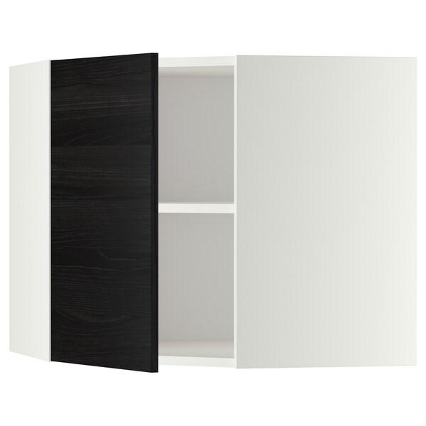 METOD خزانة حائط زاوية مع أرفف
