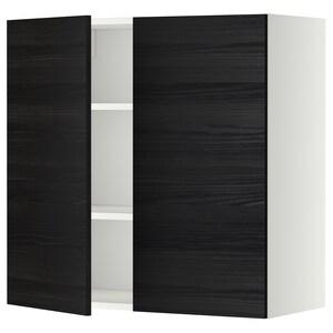 واجهة: Tingsryd مظهر الخشب أسود.