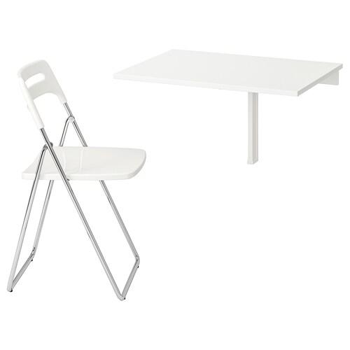NORBERG / NISSE طاولة و 1 كرسي