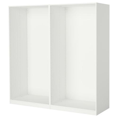 PAX هيكلي خزانة ملابس أبيض 199.6 سم 58.0 سم 201.2 سم