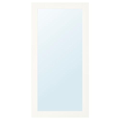 RIDABU باب بمرآة أبيض 60.0 سم 120.0 سم 60.0 سم 120.0 سم