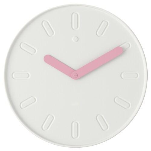 SLIPSTEN ساعة حائط أبيض 2.9 سم 35 سم