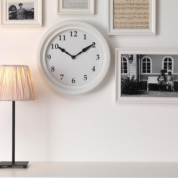 SÖNDRUM ساعة حائط أبيض 35 سم 6 سم