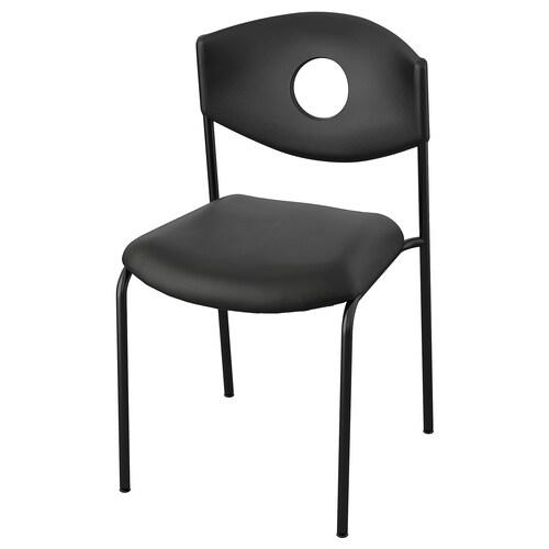 STOLJAN كرسي مؤتمرات أسود/أسود 45 سم 51 سم 81 سم 44 سم 44 سم 46 سم 110 كلغ
