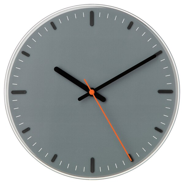 SVAJPA ساعة حائط 6 سم 30 سم