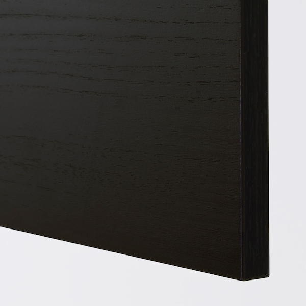 TINGSRYD باب مظهر الخشب أسود 59.7 سم 120.0 سم 60.0 سم 119.7 سم 1.6 سم