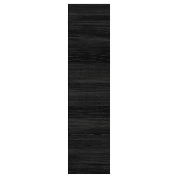 TINGSRYD باب مظهر الخشب أسود 19.7 سم 80.0 سم 20.0 سم 79.7 سم 1.6 سم