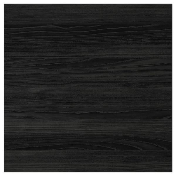 TINGSRYD باب مظهر الخشب أسود 59.7 سم 60.0 سم 60.0 سم 59.7 سم 1.6 سم