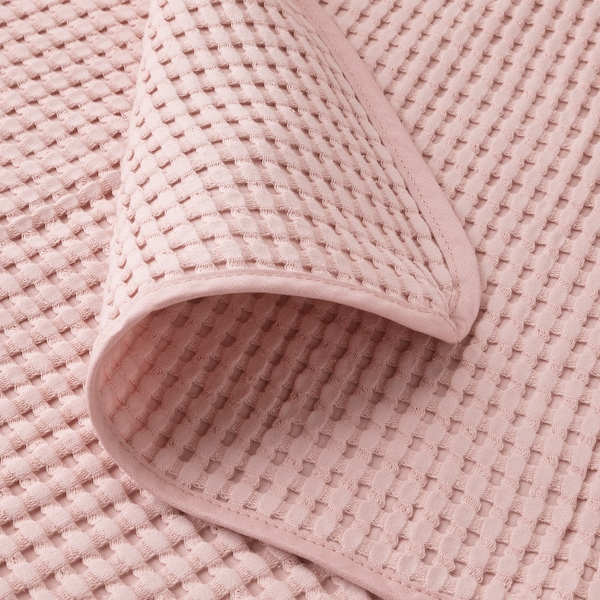 VÅRELD غطاء سرير زهري فاتح 250 سم 150 سم