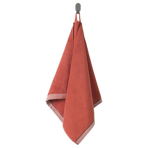 VIKFJÄRD منشفة يد أحمر 100 سم 50 سم 0.50 م² 475 g/m²