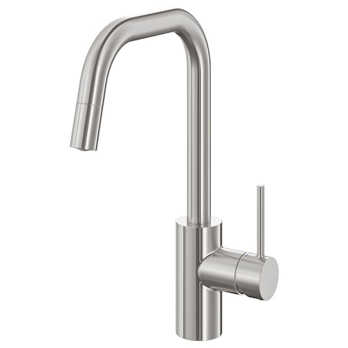 ÄLMAREN kitchen mixer tap w pull-out spout stainless steel colour 36 cm