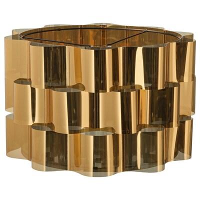 ÄLVSTARR Lamp shade, gold-colour, 51 cm