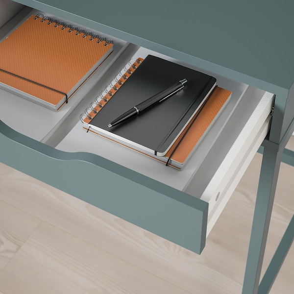 ALEX مكتب, رمادي- تركواز, 100x48 سم