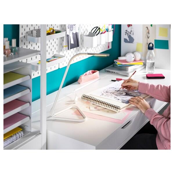 ALEX مكتب, أبيض, 131x60 سم