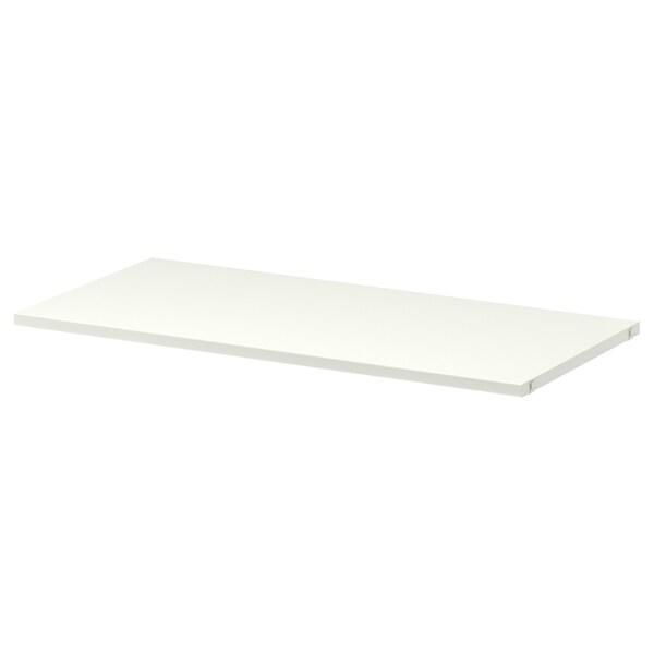 ALGOT shelf white 80 cm 38 cm 2 cm 30 kg