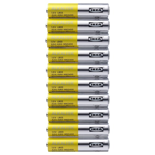ALKALISK battery alkaline 10 pieces