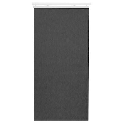 ANNO TUPPLUR Panel curtain, dark grey, 60x300 cm