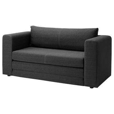 ASKEBY Two-seat sofa-bed, grey