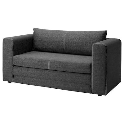 ASKEBY صوفا - سرير مقعدين, رمادي