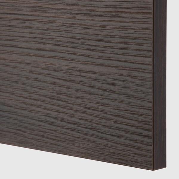 ASKERSUND Drawer front, dark brown ash effect, 60x40 cm
