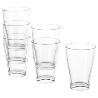 BEHÄNDIG Glass, clear glass, 30 cl