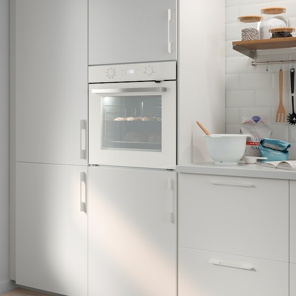 BEJUBLAD Forced air oven, white glass