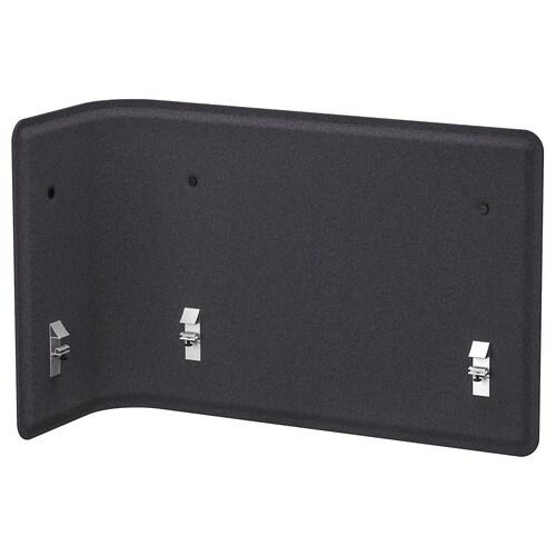 BEKANT screen for desk grey 83 cm 55 cm 2.5 cm