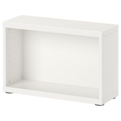 BESTÅ هيكل, أبيض, 60x20x38 سم
