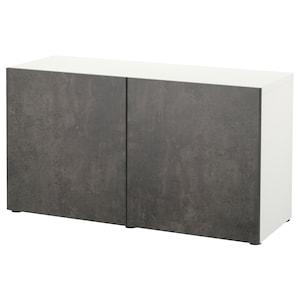 Colour: White kallviken/dark grey concrete effect.