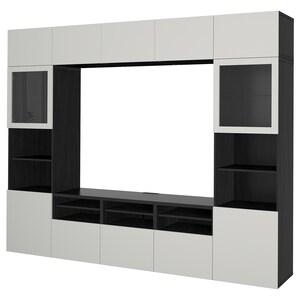 Colour: Black-brown/lappviken light grey clear glass.