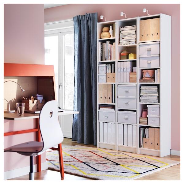 BILLY bookcase white 40 cm 28 cm 202 cm 14 kg